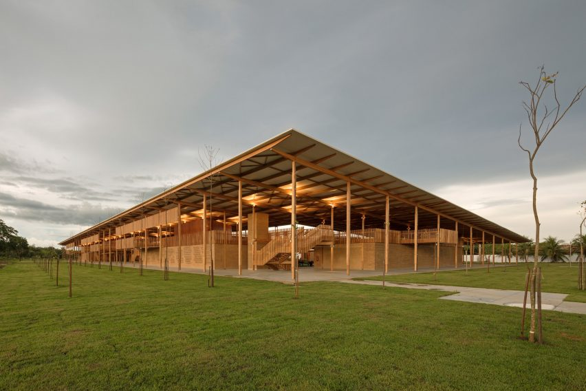 Children Village in Brazilian rainforest by Aleph Zero and Rosenbaum wins RIBA International Prize